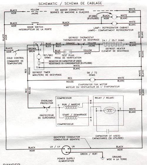 Freezer Control Wiring Diagram - 12tramitesyconsultas \u2022
