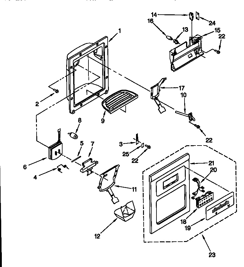 Amana Ice Maker Wiring Diagram Electrical Circuit Electrical