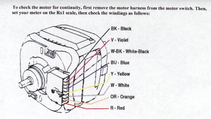 Dryer Motor Wiring Diagram Wiring Schematic Diagram
