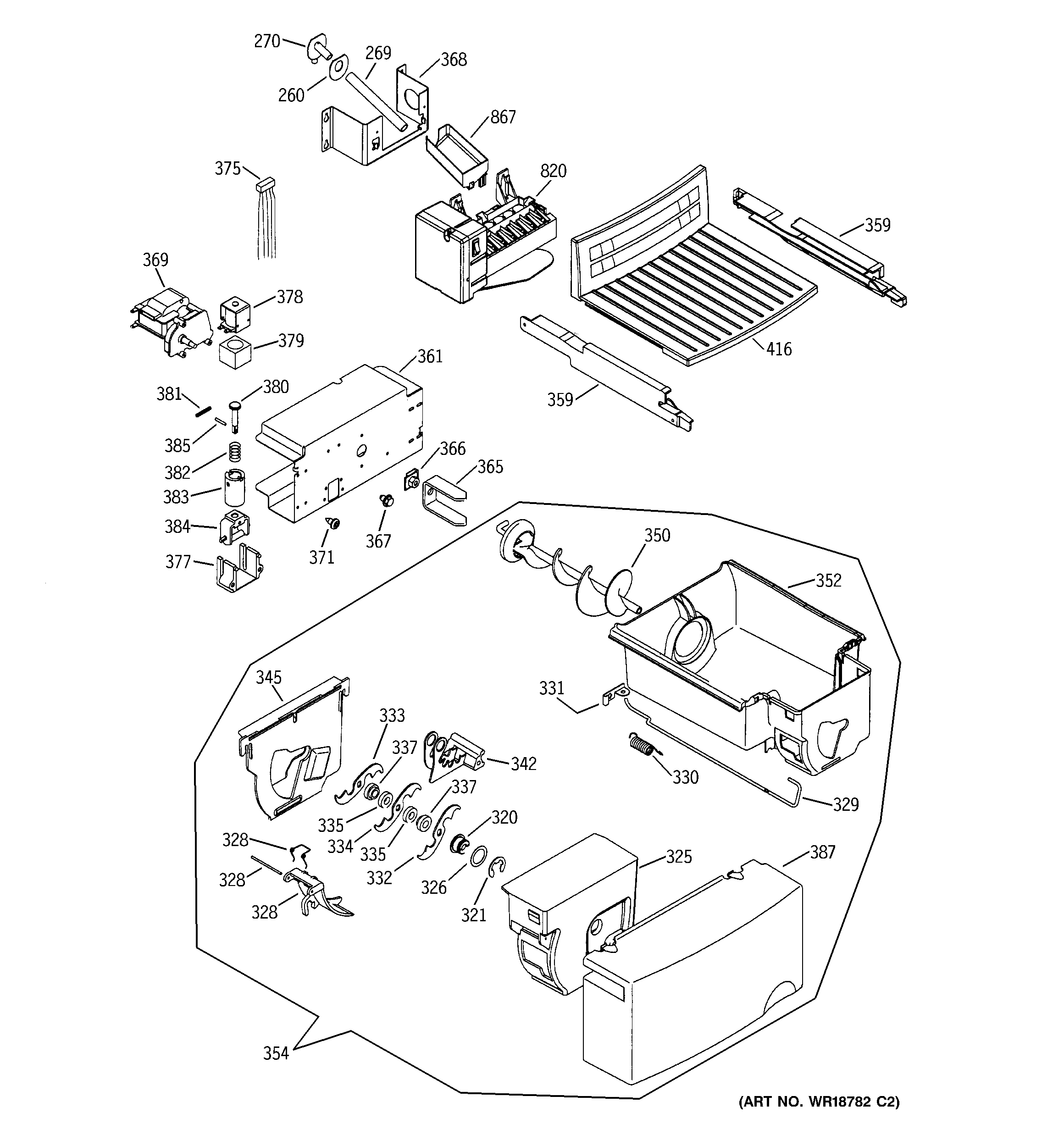 ice maker wiring diagram wr30x10093