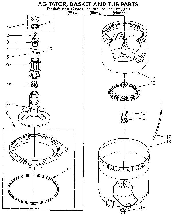 block diagram of washing machine control