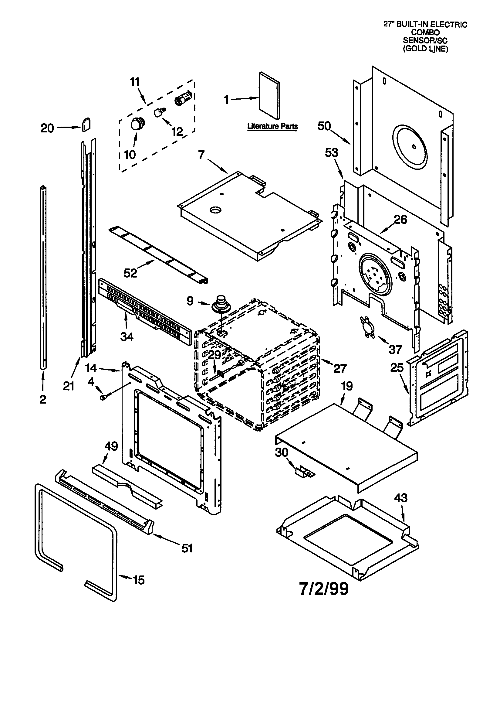 wiring diagram for stove and oven combo