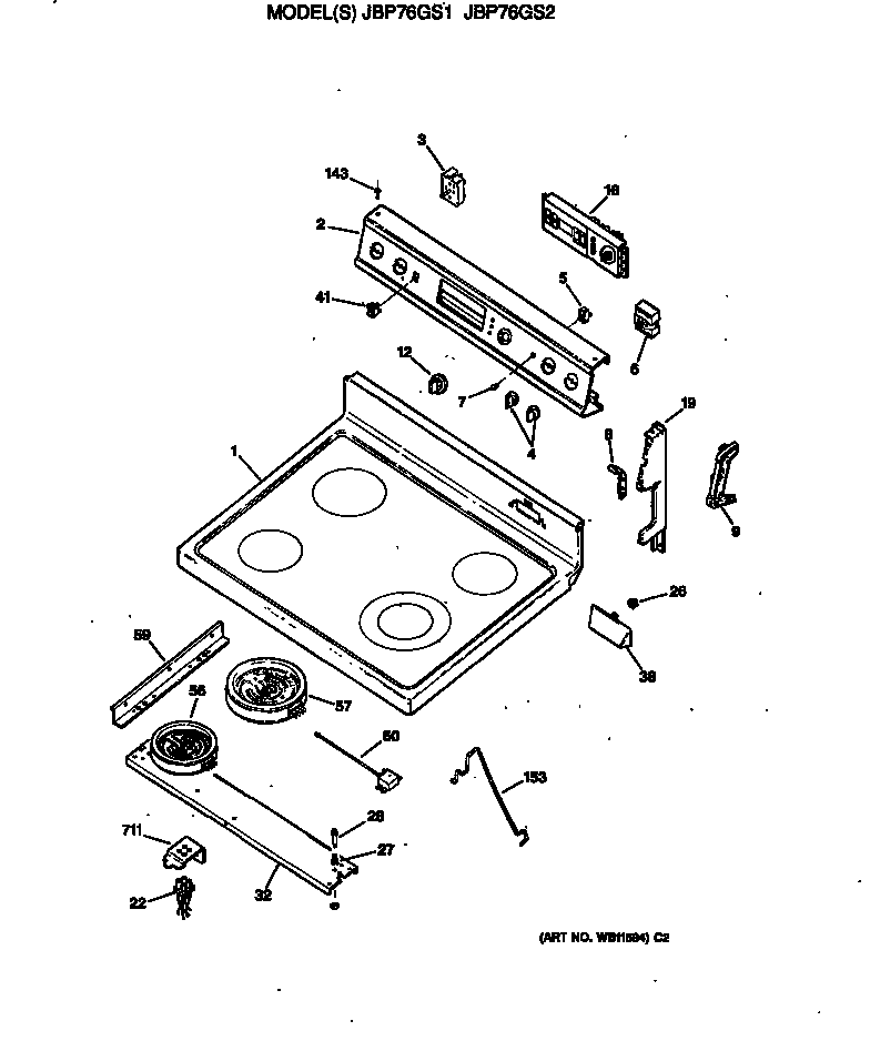ge cooktop stove wiring diagram