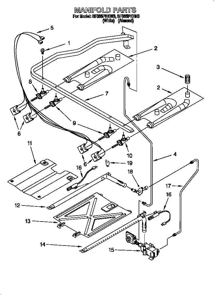 whirlpool range wiring diagram