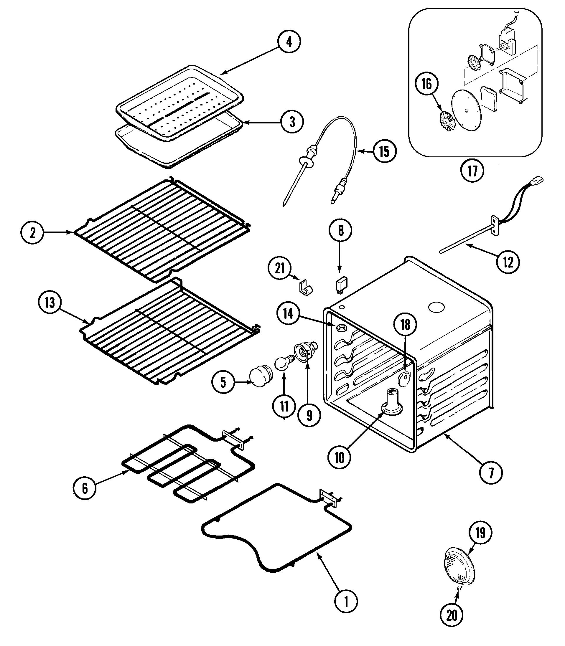 jenn air oven wiring diagram