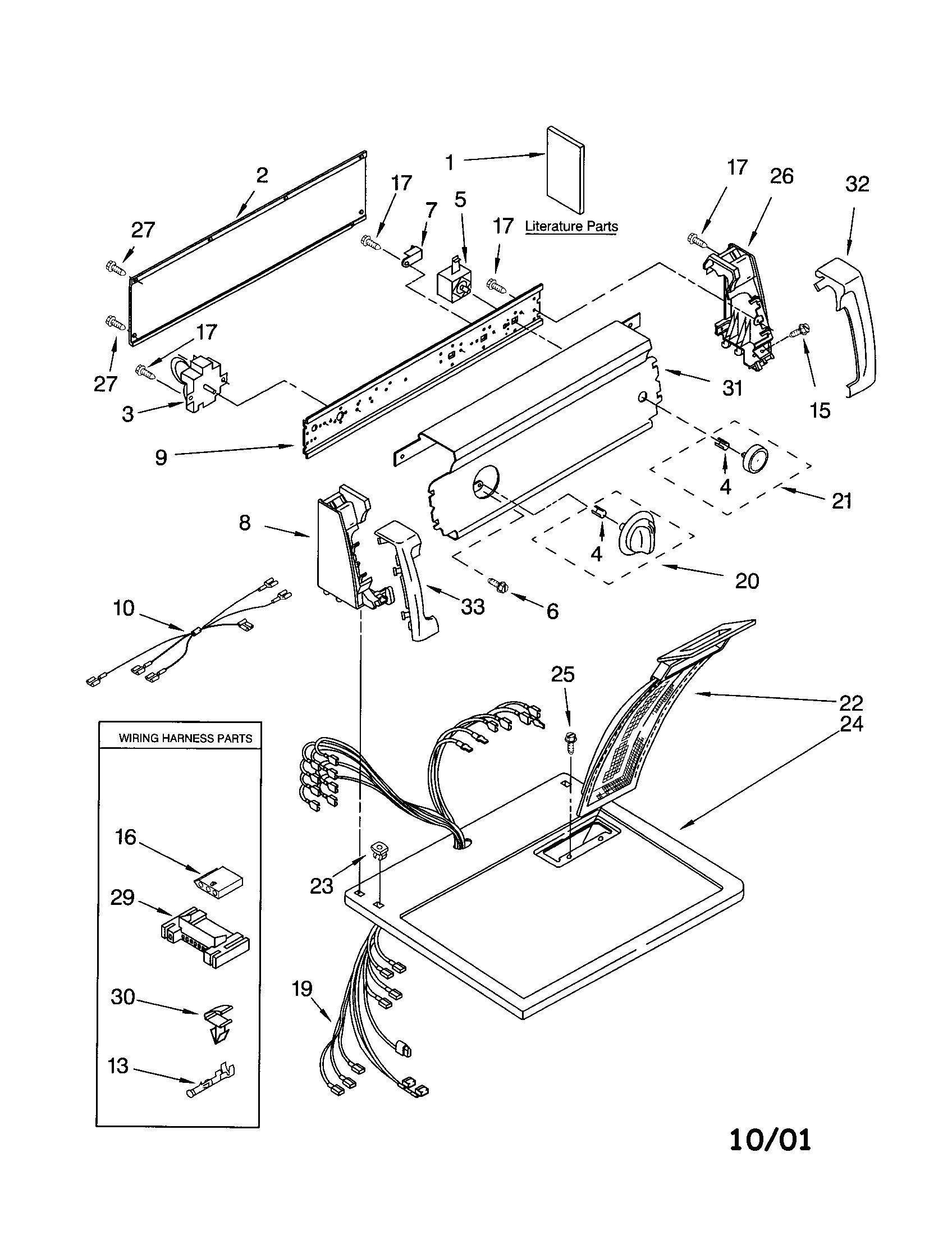 kenmore elite heating element wiring diagram