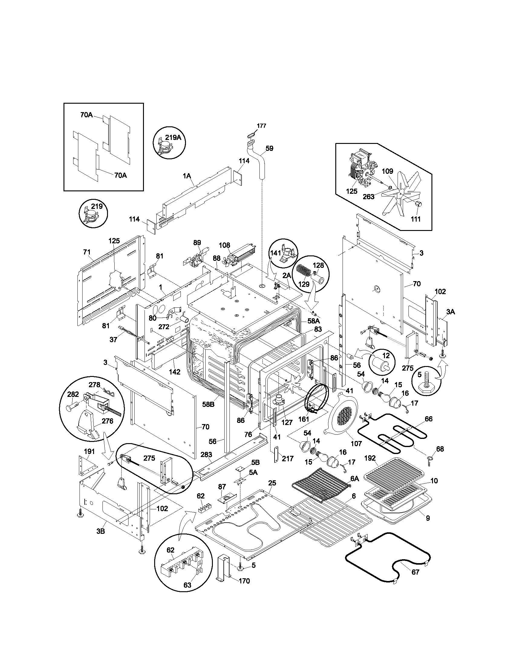 electric range wiring schematics