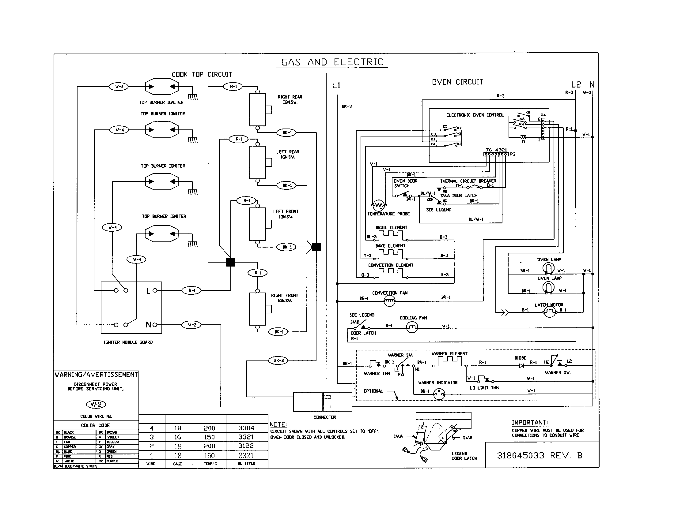 titus wiring diagram for part