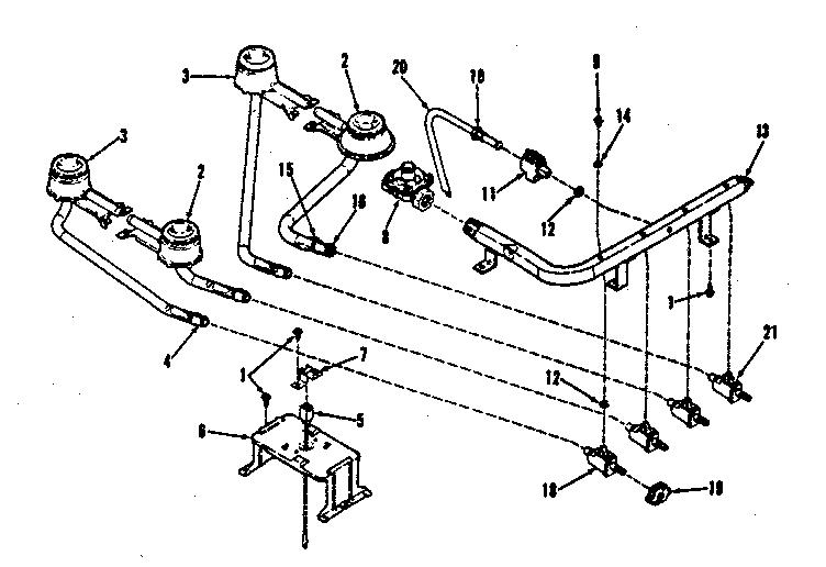 sparking frigidaire wiring harness parts