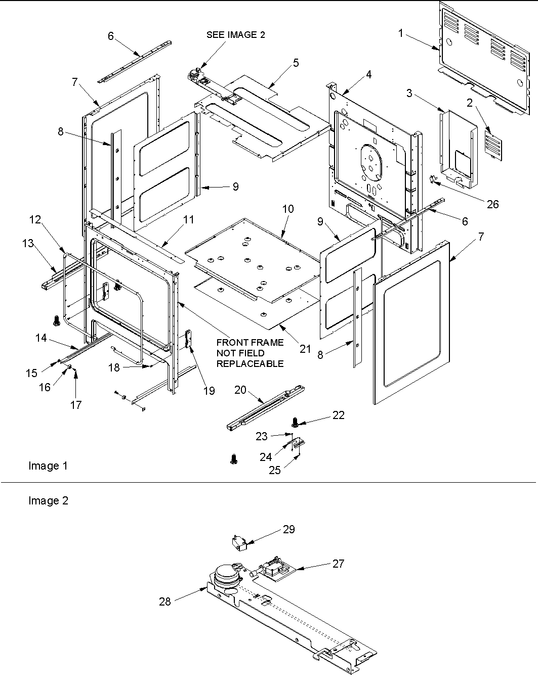 amana electric range wiring diagram
