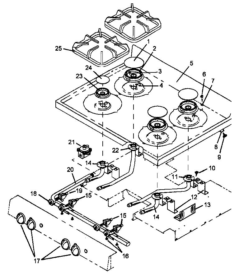 whirlpool gas range wiring diagram