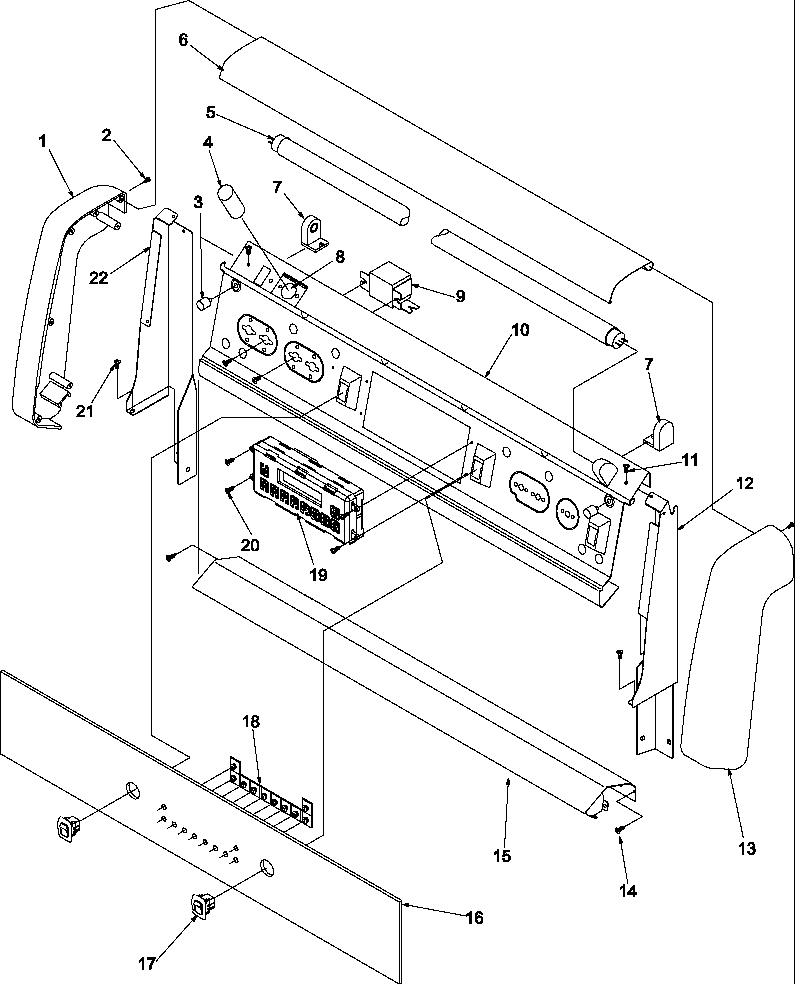 amana stove wiring diagram