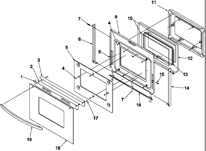 amana oven wiring diagram