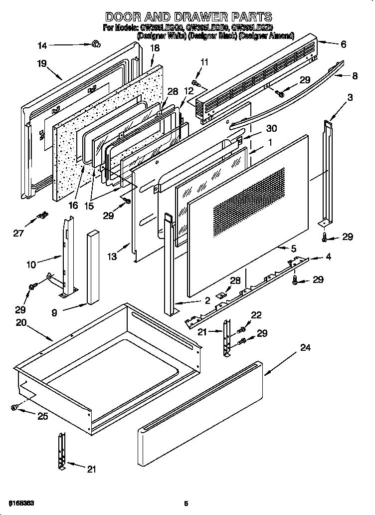whirlpool gas range sf265ltxs2 wiring diagram