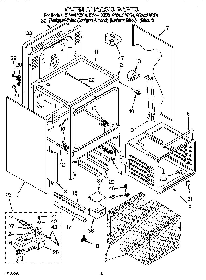 wiring diagram for whirlpool range