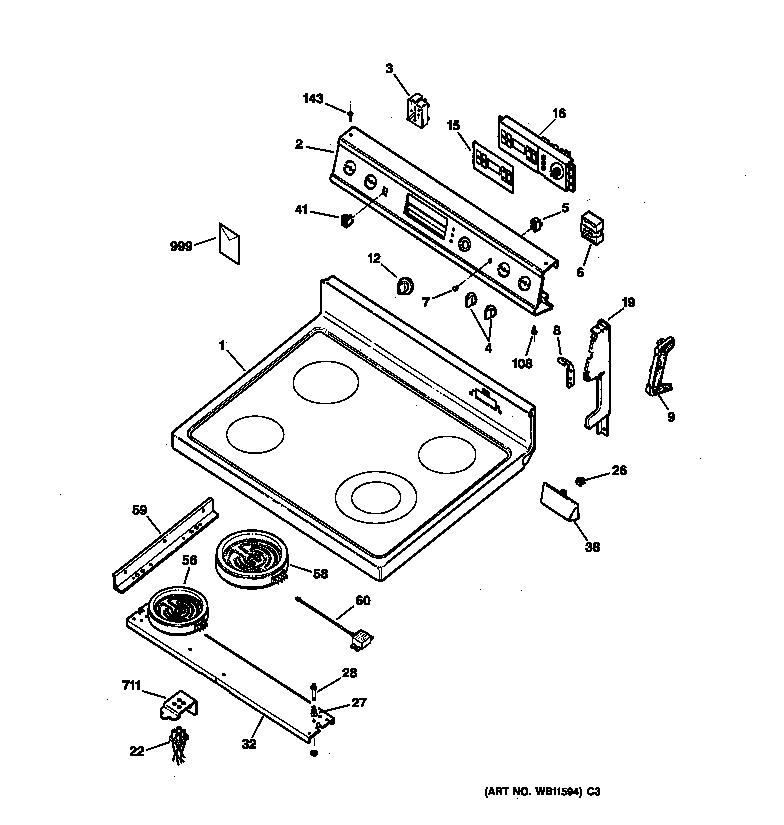 general electric range wiring diagram