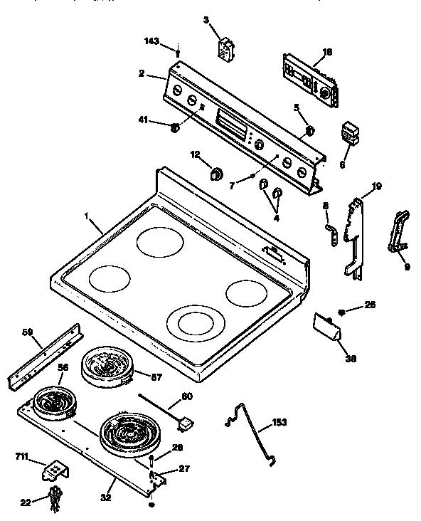 ge electric cooktop wiring diagram