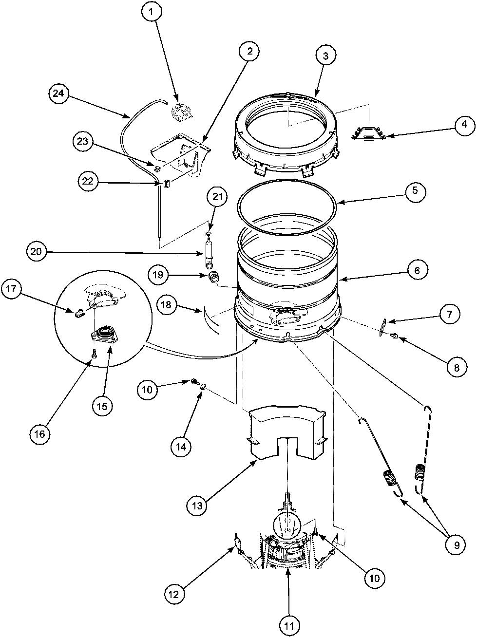 pressure washer wiring diagram