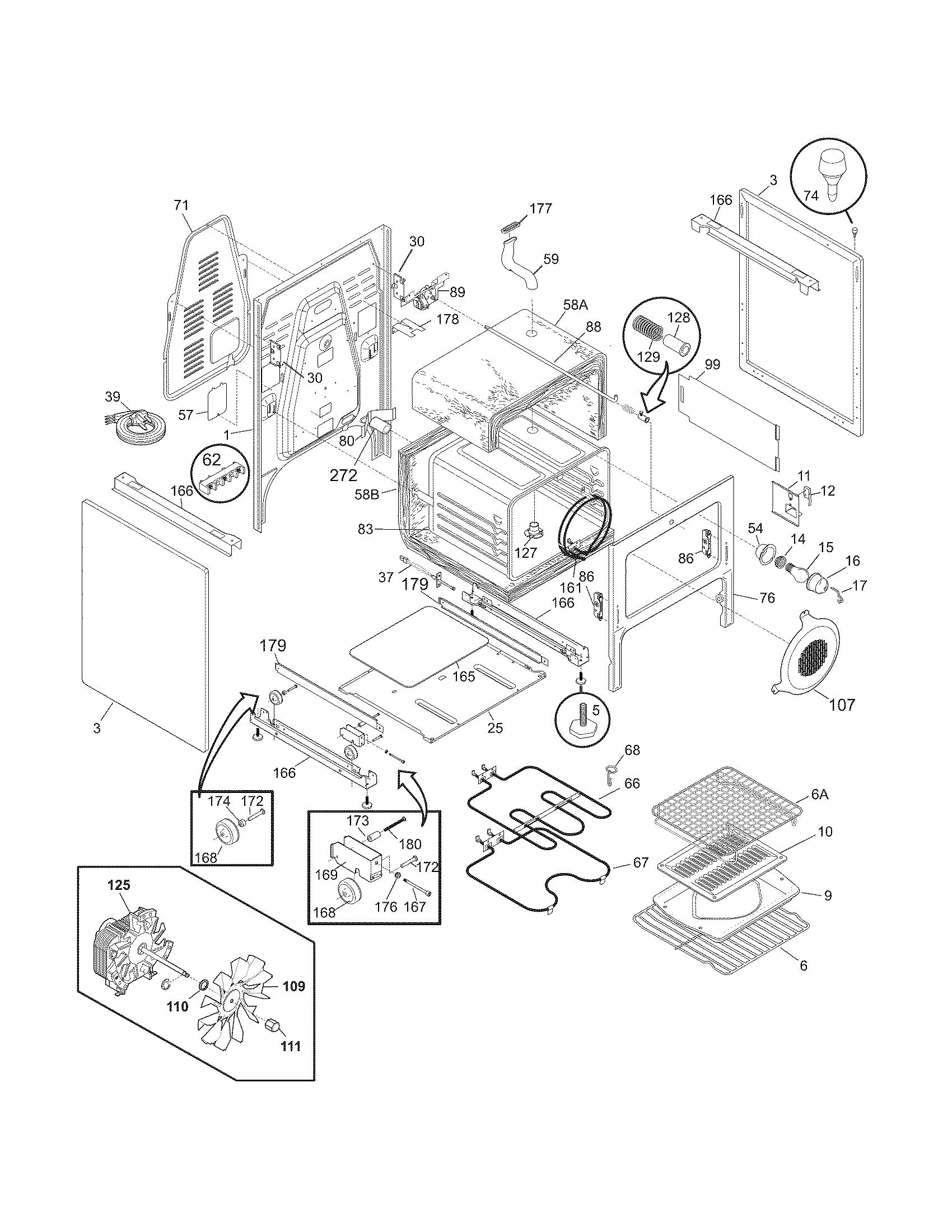 electrolux wiring diagram