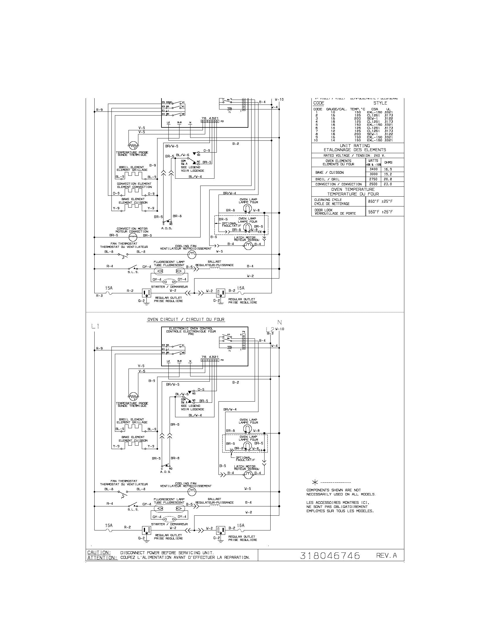 pglef387cs2 electric range wiring diagram parts diagram
