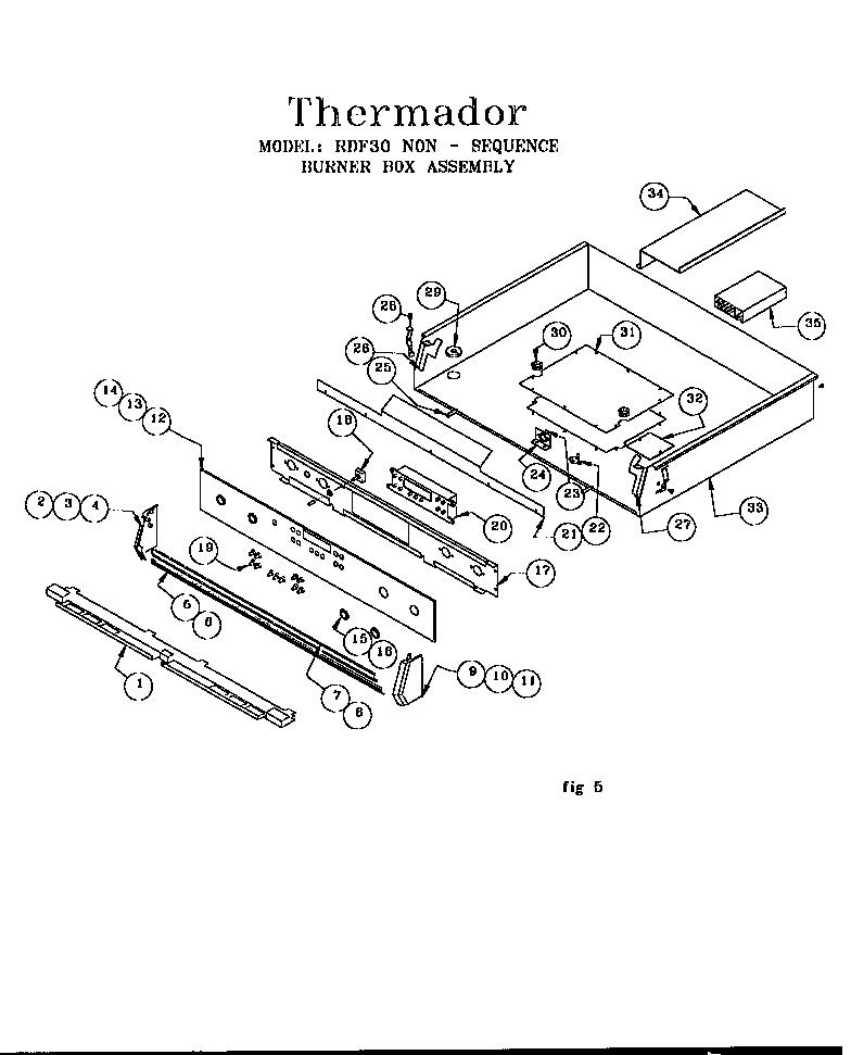 rdf30rs freestanding dual fuel range wiring diagram parts diagram