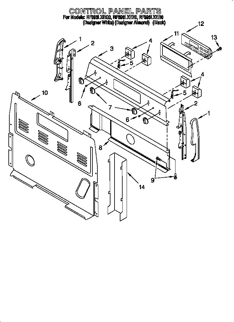 whirlpool cooktop wiring diagrams