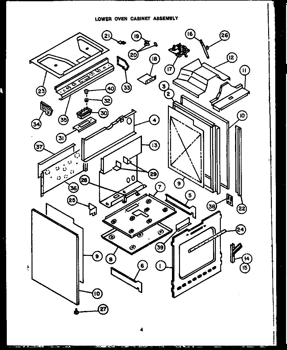 cabinet door diagram
