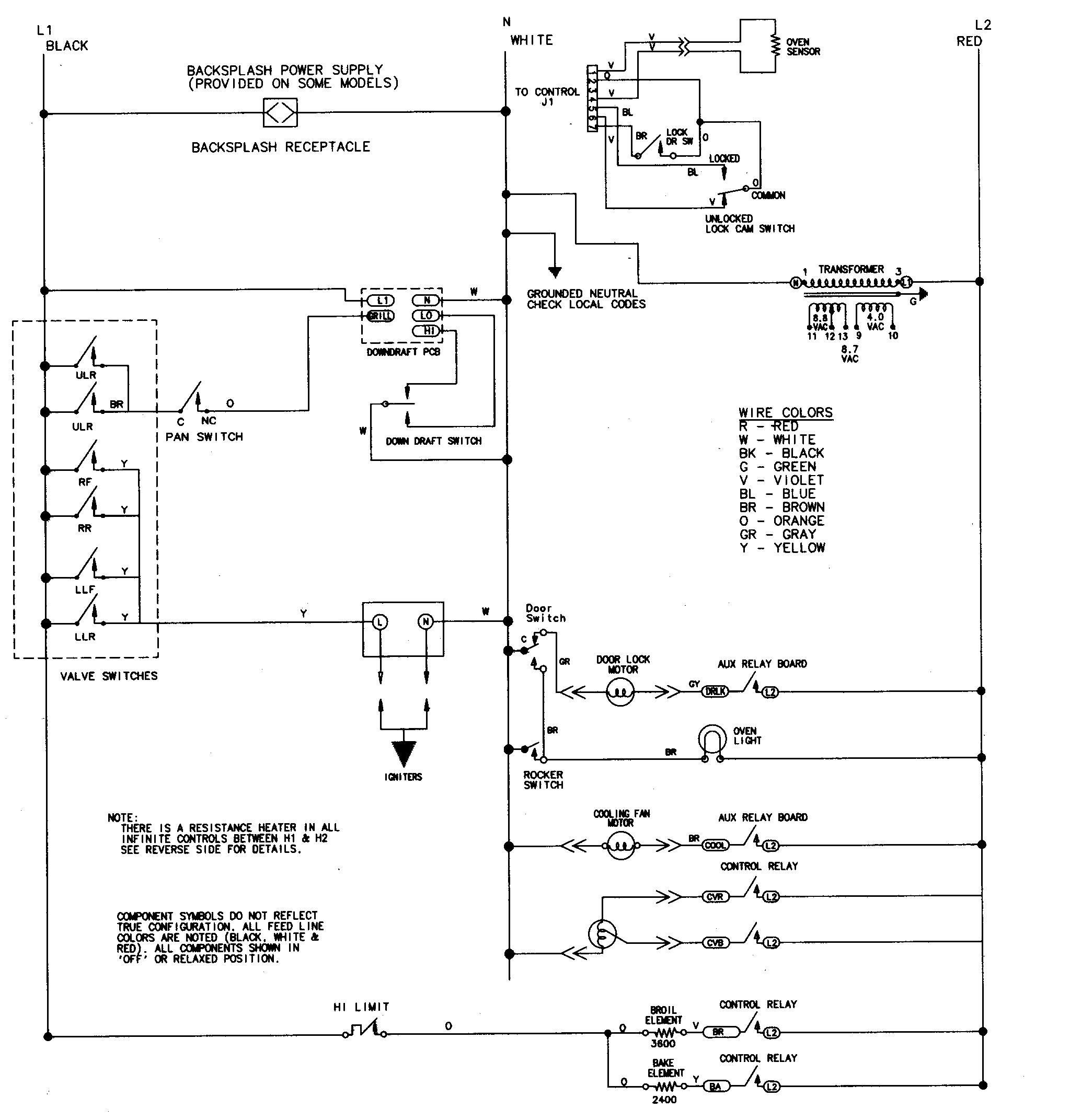 Pellet Stove Thermostat Wiring Diagram Jenn Air Svd48600p Gas Electric Slide In Range Timer