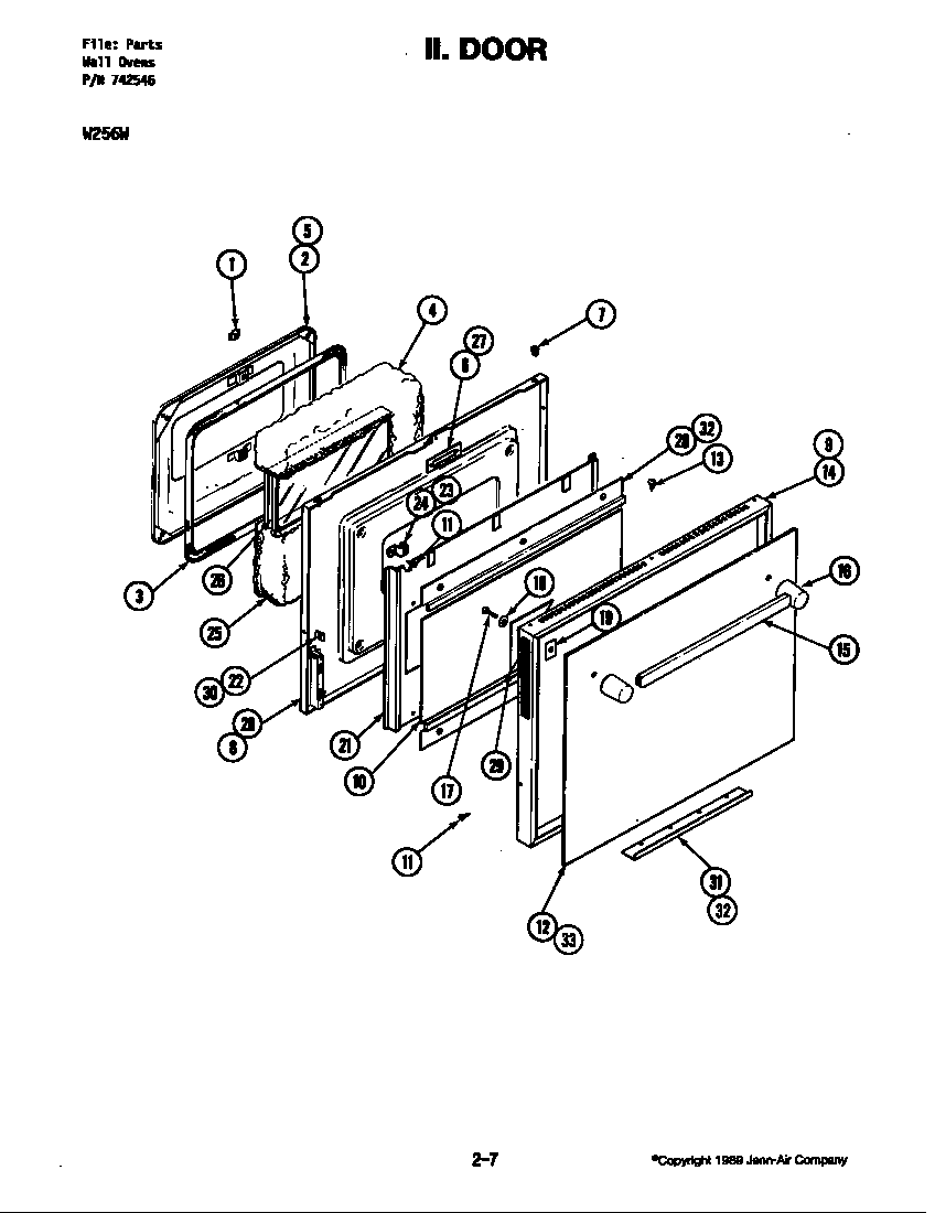 w256 electric wall oven basic body w256w w256w parts diagram