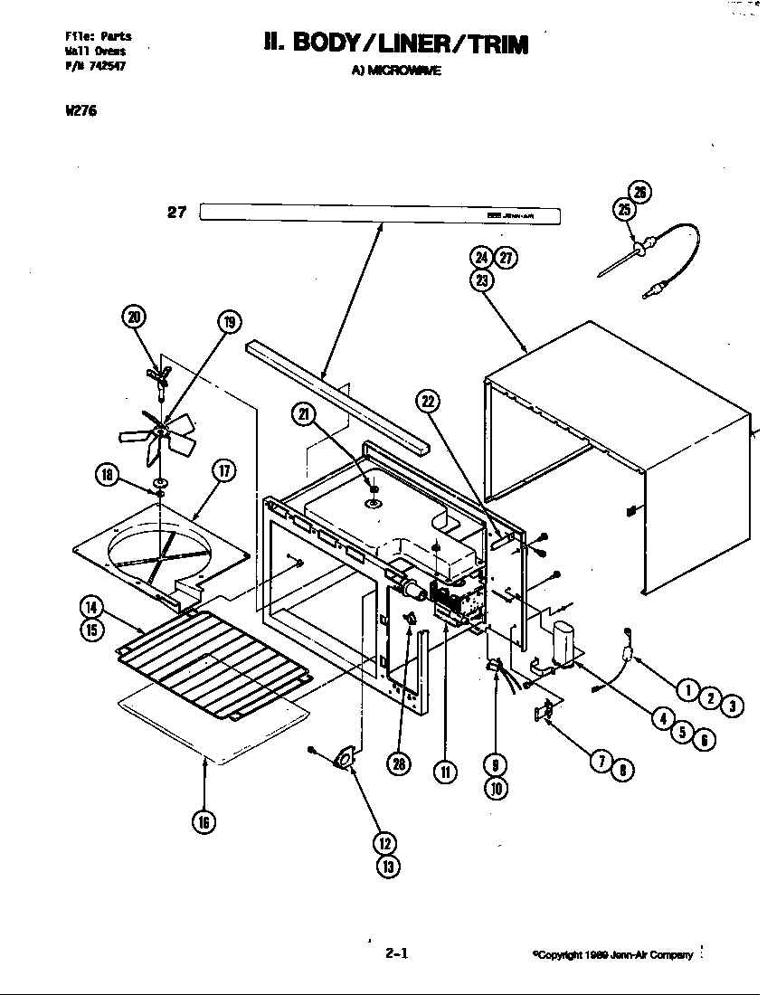 wiring diagram for microwave oven
