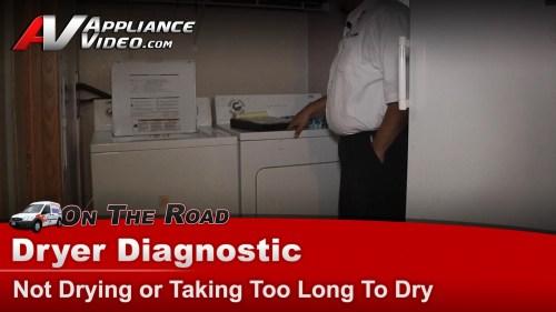 Medium Of Dryer Not Drying