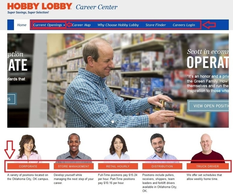 Hobby Lobby Job Application Form Online | Professional resumes ...