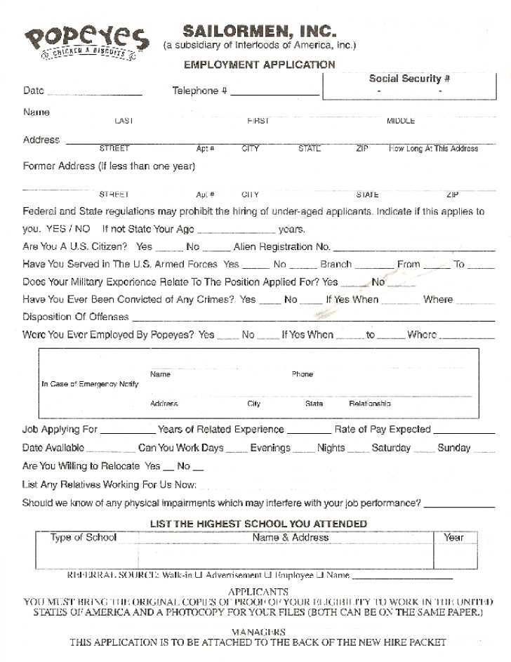 Gnc Job Application Form Pdf | Sample Resume For Marketing Person