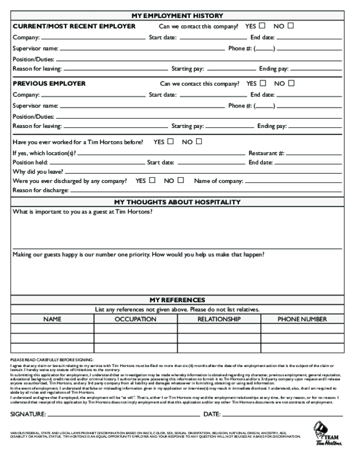 Free Printable Job Application Letter | Resume Examples ...