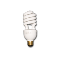 15 Watt Spiral CFL