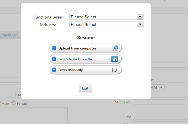 Talent Management System  Resume Collection Software - resume management system