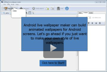 Convert image files to live wallpapers for android devices - Android live wallpaper maker