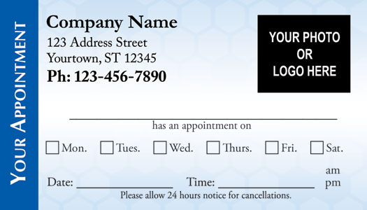 Medical Appointment Cards - Doctors appointment cards - appointment template free