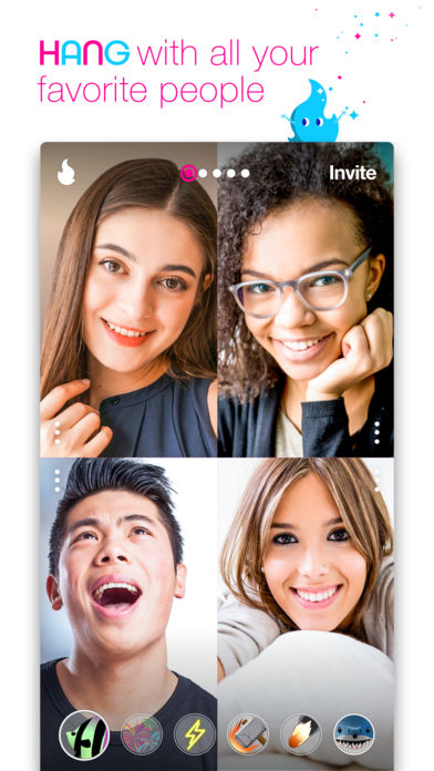 Campfire - Live group video chat room - appPicker - live video chat room