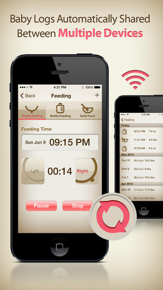 MammaBaby app review track important information for you and baby