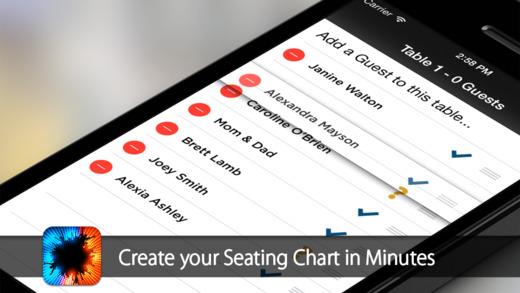 Table Seating Chart App kicksneakers