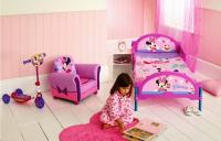 Minnie Mouse Toddler Bedroom Pc Baby Girl Disney Pink Set ...