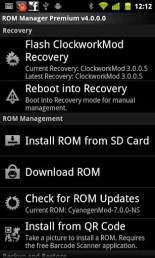ROM Manager Roid Download
