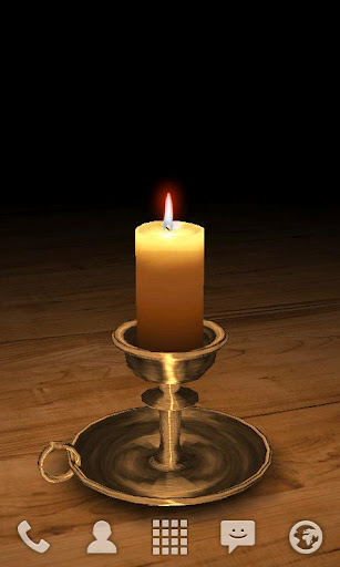 Shubham 3d Wallpaper 3d Melting Candle Free Apk Download For Android