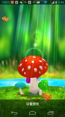 Manu 3d Name Wallpapers Mushrooms 3d Live Wallpaper Apk Download For Android