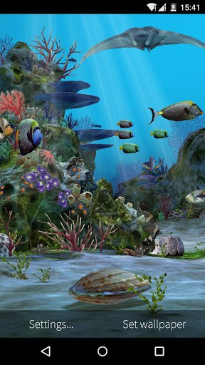 3d Live Wallpaper Themes 3d Aquarium Live Wallpaper Hd Apk Download For Android