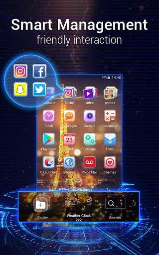 U Launcher 3D app for android | APK Download for Android