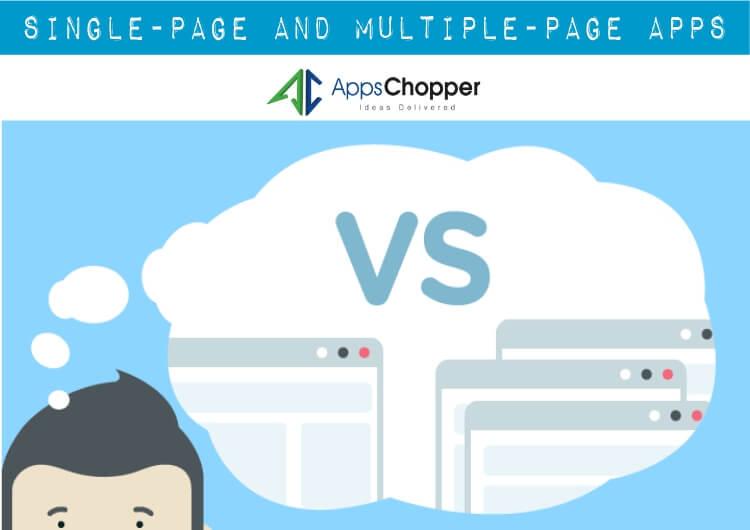Single-page vs Multiple-page Apps  Mobile App Development