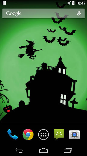 Halloween Live Wallpaper for Android - Free Download