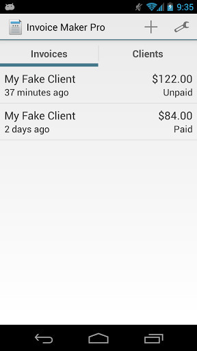 Invoice Maker Pro for Android - Free Download